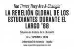 Simposio Internacional La rebelión global de los estudiantes durante el largo '68
